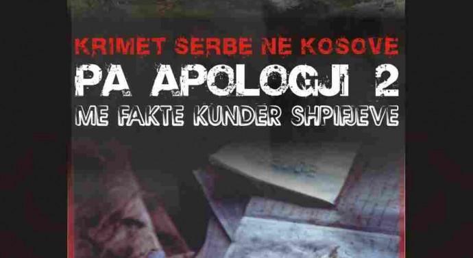 Libër që lufton harresën dhe dëshmon përmasat e krimeve dhe gjenocidit serb në Kosovë