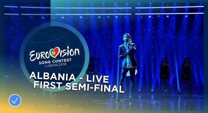 Eugent Bushpepaj kualifikohet për finalen e Eurovizionit 2018